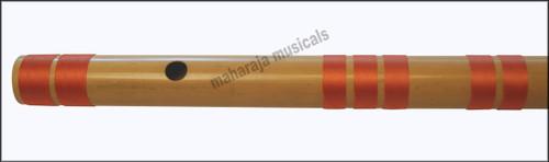 MAHARAJA Bansuri Scale E Natural Bass 29.5 Inch Indian Bamboo Flute CFG