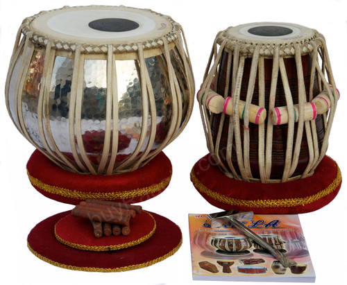 AKBAR MIAN & BROS Standard Tabla Set, 4 Kg Copper Bayan