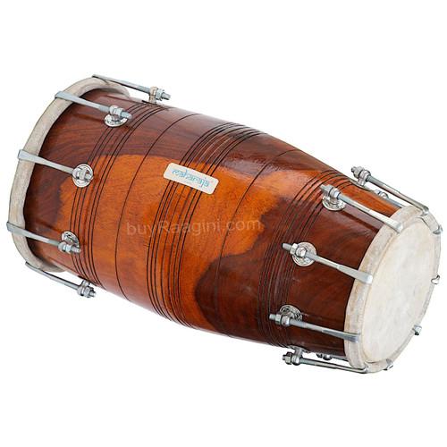 MAHARAJA Pro Dholak (Dholki), Sheesham Wood, Bolt-tuned, Spanner ABI