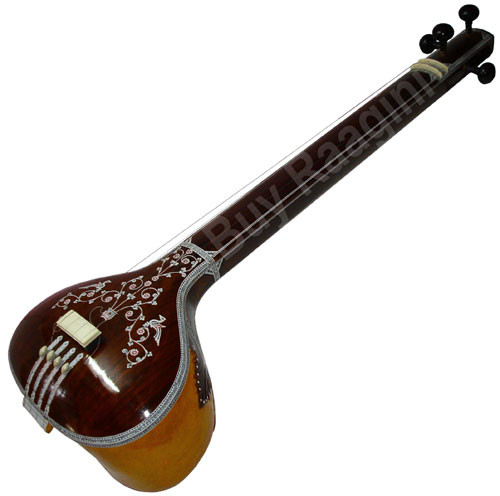 MAHARAJA Tanpura, Male, 4 Strings, Fiber Case (Miraj Tambura) - ABB