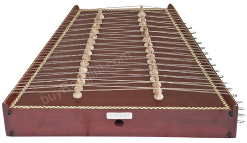 MAHARAJA Classical Indian Santoor/Santur - Mahogany Colour