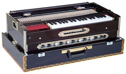 Paul & Co. Harmonium, Teak Wood 4 Reeds (BMMF), 13 Scales, 11 Stop FBD