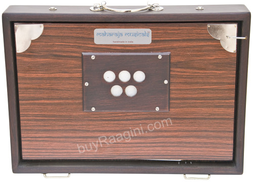 MAHARAJA MUSICALS Concert Shruti Box, Rosewood Color With Bag - BAF