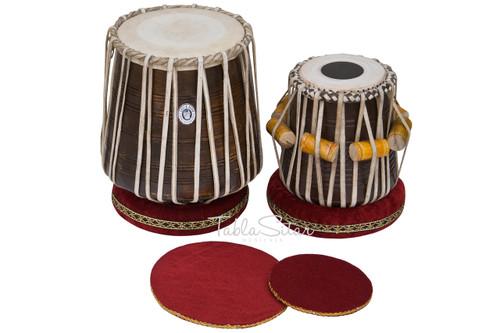 MAHARAJA MUSICALS Dhama Jori - Sheesham Wood Dhama and Dayan(Tabla) - EBI