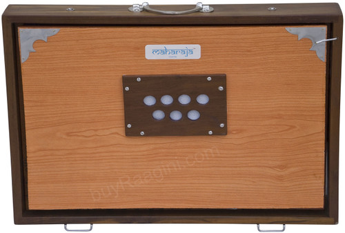 MAHARAJA Concert Shruti Big Box, Natural Color With Bag EFE