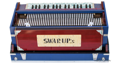 Swarup's Harmonium, A440 Tuned, 3 Reeds, 9 Scale Changer