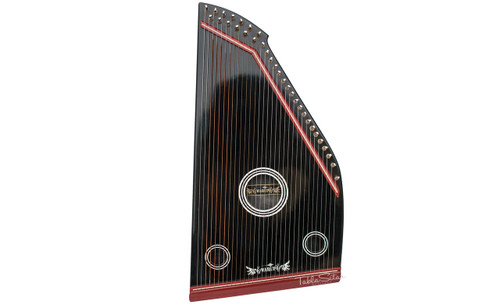 Swarup Swarmandal, Black Color, 32 Strings, 21 Inches FCG
