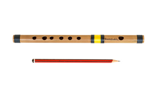 Sarfuddin Flutes Concert, Scale A Natural Medium 11 Inch, Indian Bamboo Flute DEB