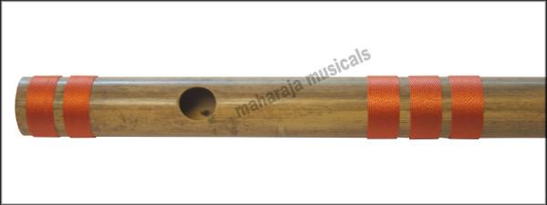 MAHARAJA Bansuri Scale E Natural Med. 16 Inch, Indian Bamboo Flute CFH