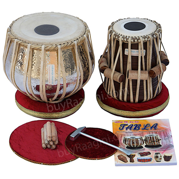 MAHARAJA Concert Extra Heavy 5.5 Kg Copper Tabla Drum Set AAD