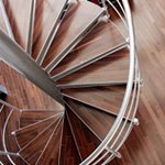 Stairs in a commercial setting – France
