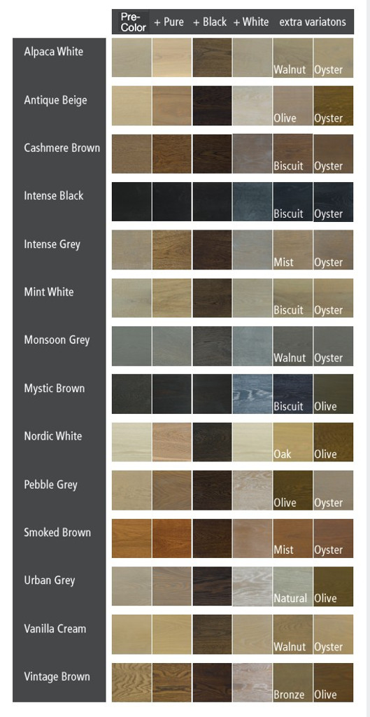 PreColor Easy Color Swatches