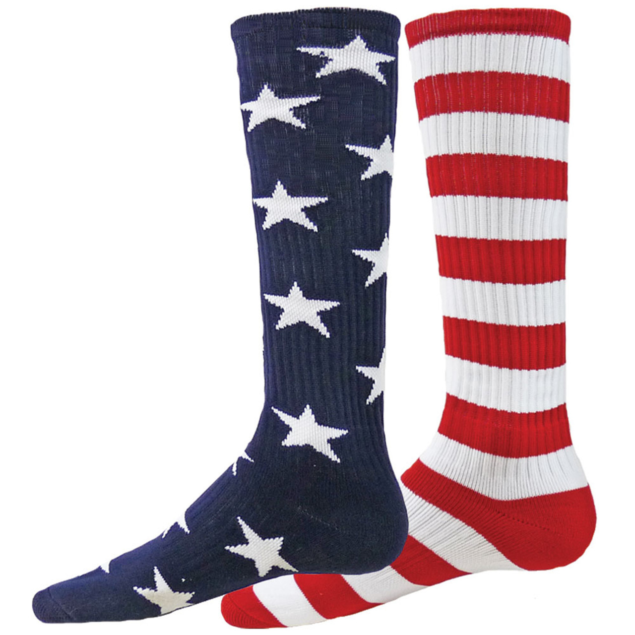 edc01f8fb Independence Mismatched Over the Calf Sport Socks - KidsFunSocks.com