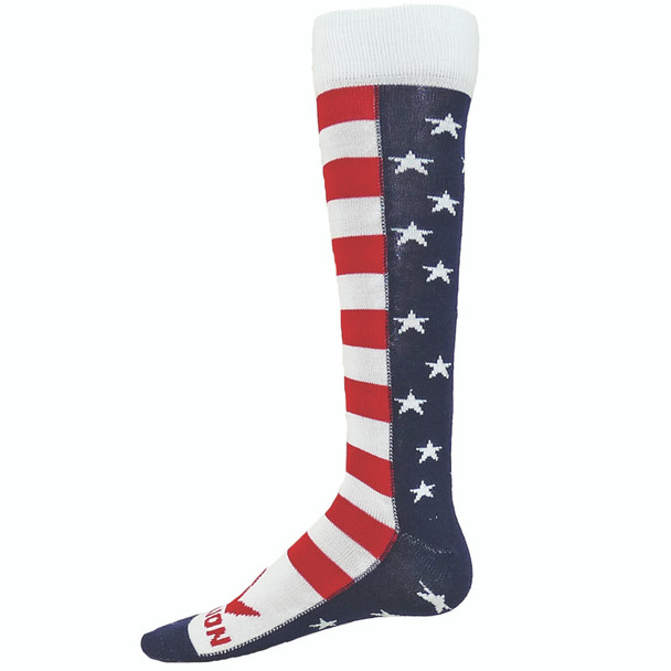 Brave Stars & Stripes Over The Calf Sport Socks