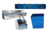 Diamond Plate Garage Blue Combo Set