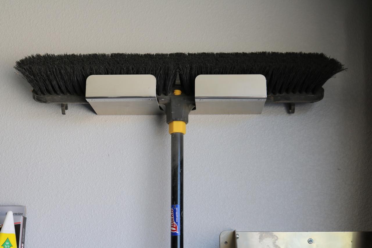 Stainless Steel  Broom Holder