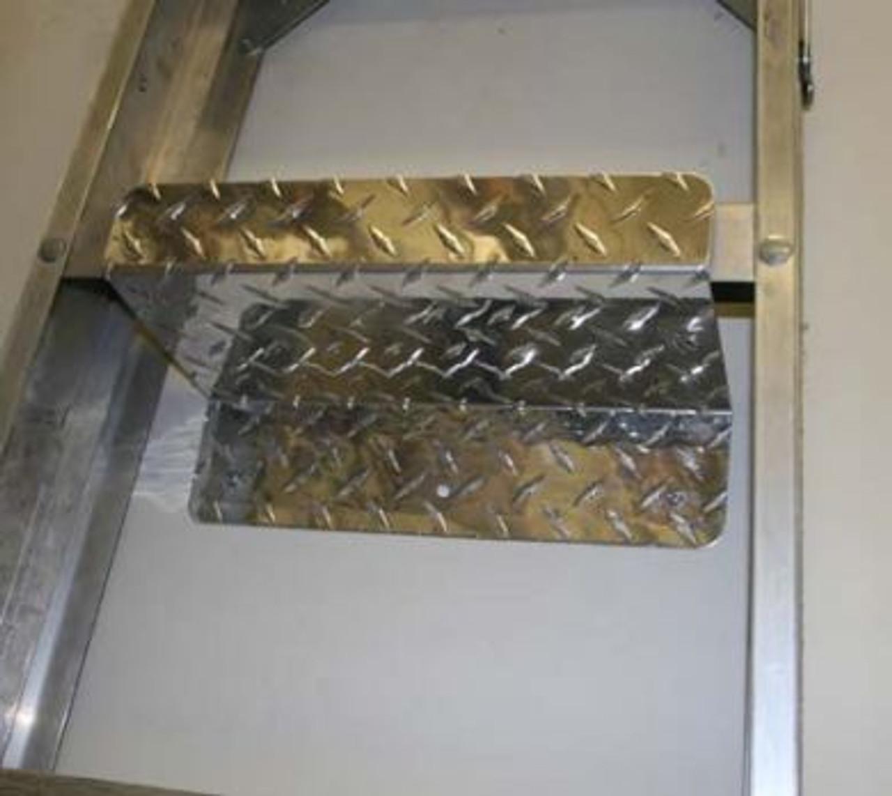 Diamond Plate Ladder Holder