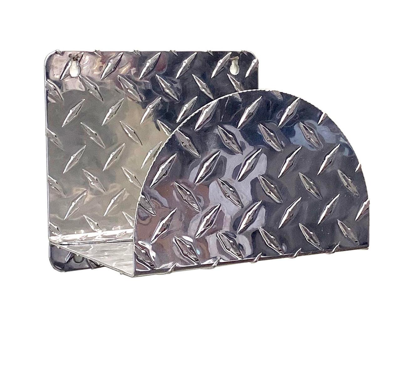 Diamond Plate Hose Hanger, No Rack