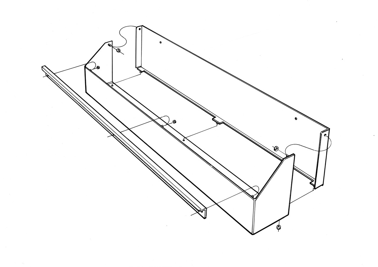 Oil Tray Drawing
