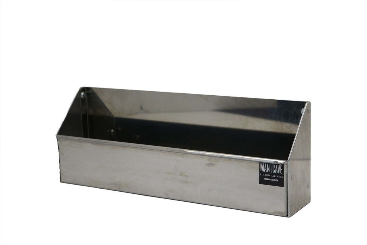 """Small Stainless Steel Tray 15"""" x 5.5"""" x 3"""""""