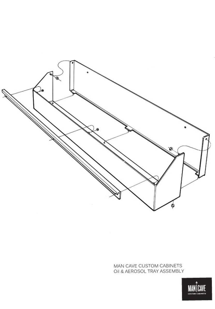 Oil and Aerosol Tray Assembly Drawing