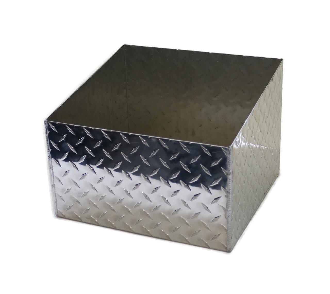 Diamond Plate Aluminum Propane Tank Holder
