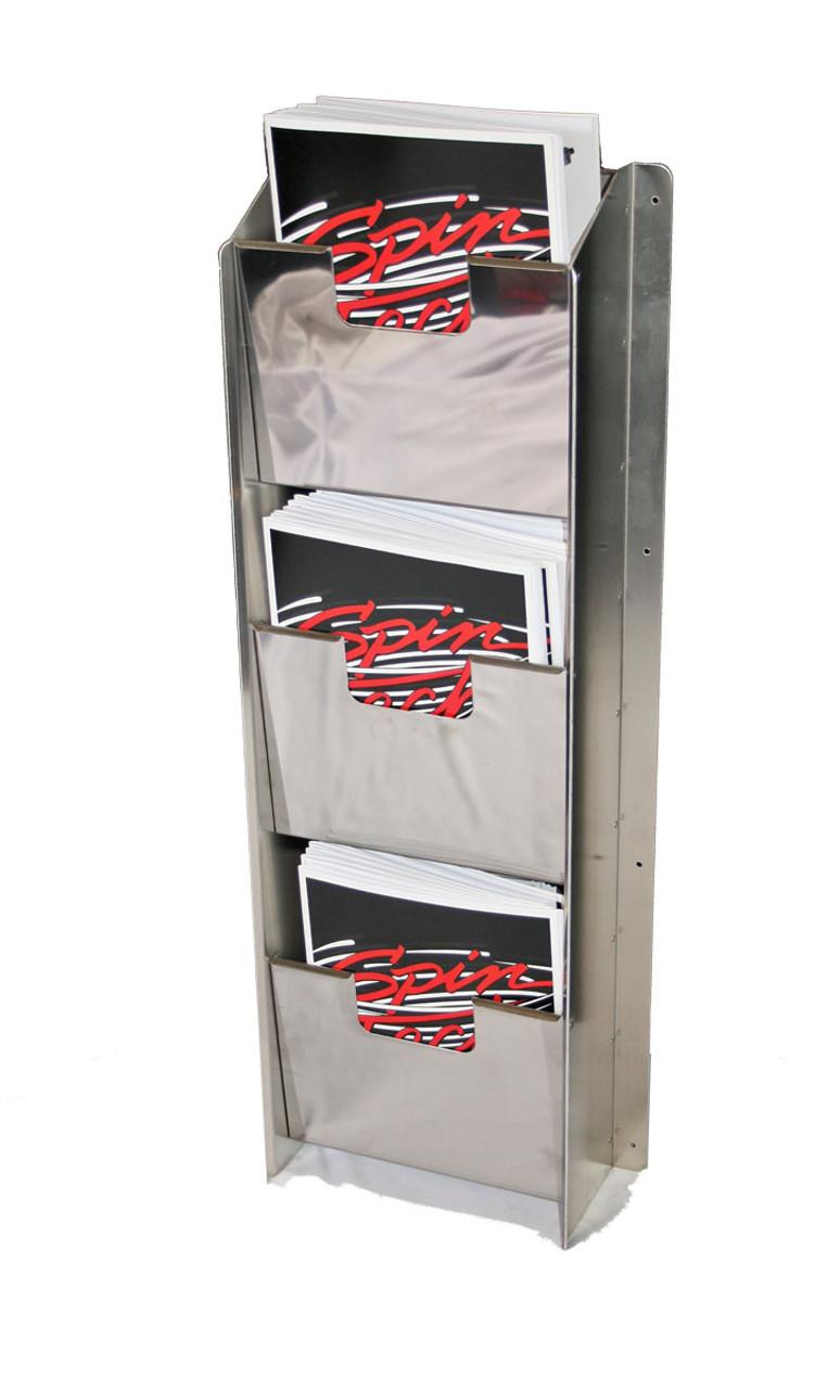 Steel Catalog or Document Rack