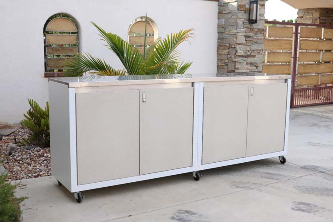 Seaside Collection 8ft Cabinet