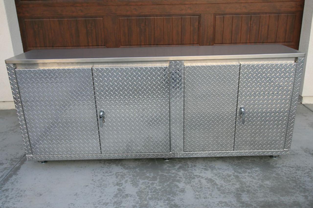 Diamond Plate Classic 7 foot Cabinet
