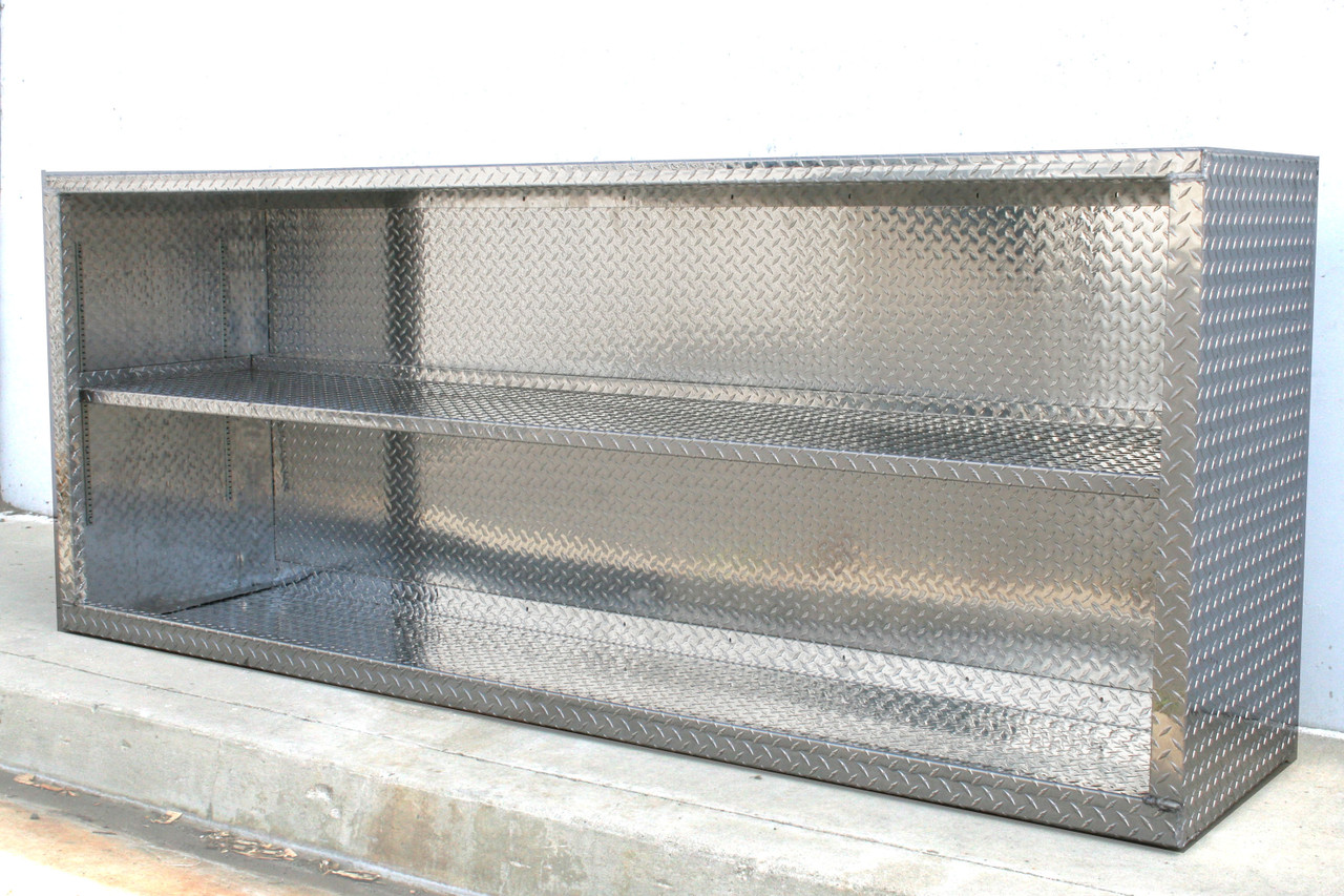8 foot Diamond Plate Cabinet