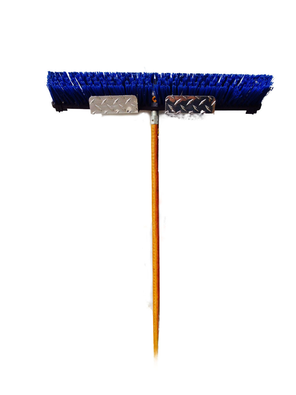 Diamond Plate Broom Holder