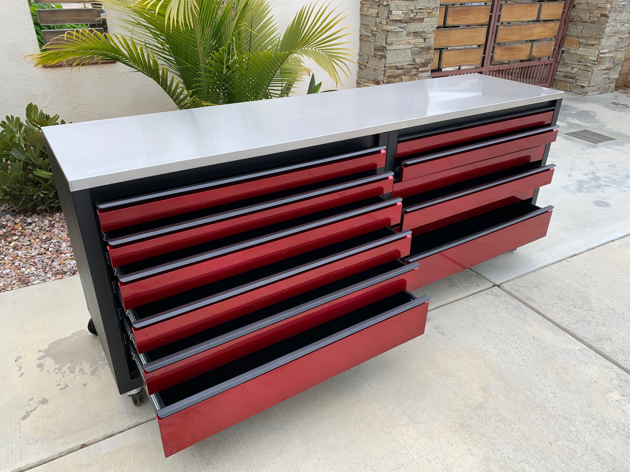 Premier 8' Base Cabinet with Drawers