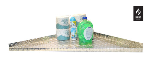 Diamond Plate Corner Shelf