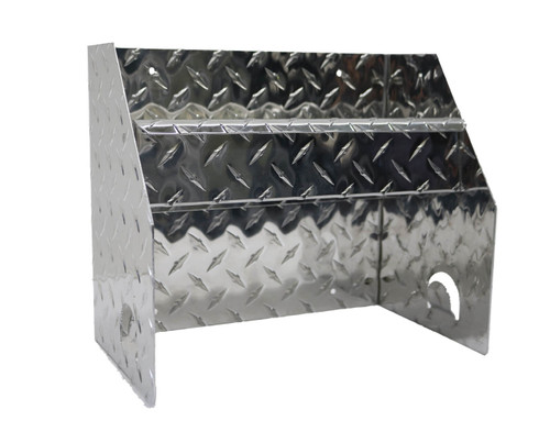Diamond Plate Hand Cleaner Station with Diamond Plate Accent