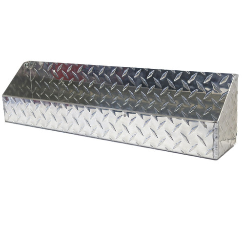 """Diamond Plate Oil and Aerosol Tray 24"""" x 4.5"""" x 6"""" Stainless Steel Accent"""