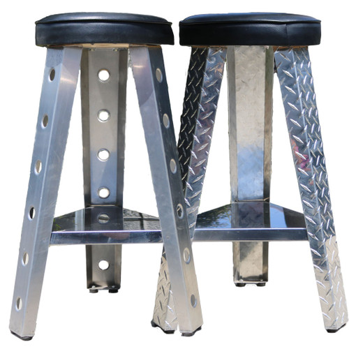 "Smooth and Diamond Plate 29"" Aluminum (Pair)"