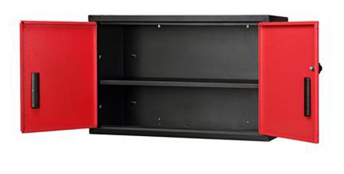 Short Wall Cabinet, Red Door