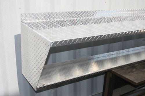 Diamond Plate Wall Mount Work Bench