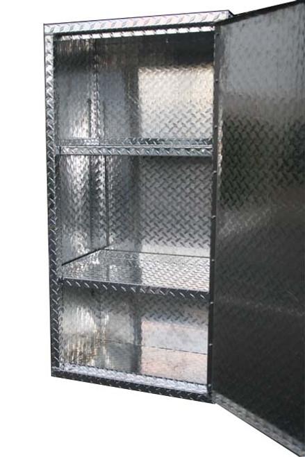Diamond Plate Locker with Right Swing Door