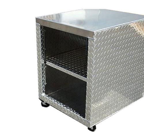 Diamond Plate Printer Stand