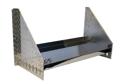 Diamond Plate Tool Box Wall Mount Shelf