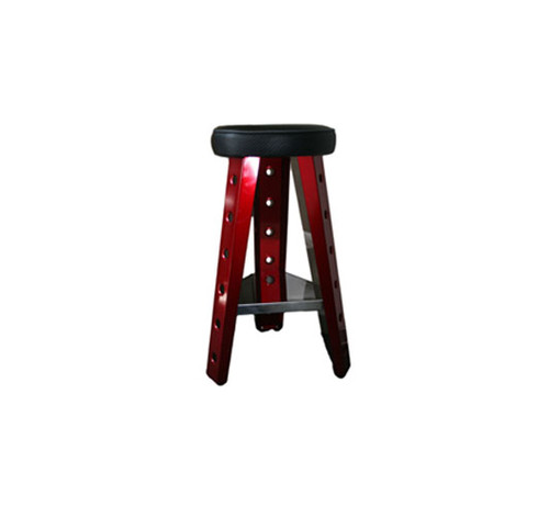 Man Cave Red Shop Stool