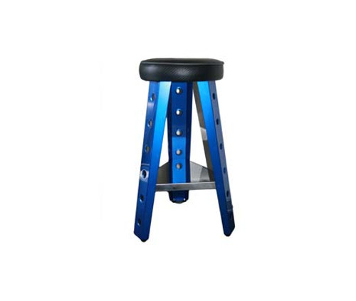 Blue Shop Stool