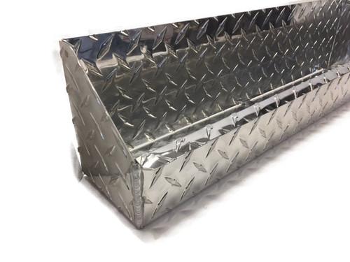 "Diamond Plate Oil and Aerosol Tray 24"" x 4.5"" x 6"" Diamond Plate Accent"