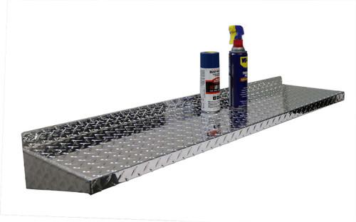4' Diamond Plate Aluminum Shelf