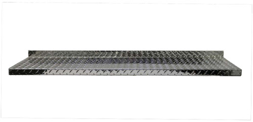 4' Diamond Plate Aluminum Shelf