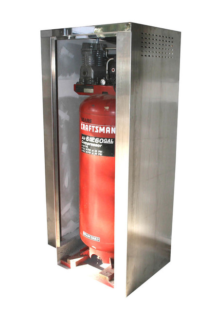 Stainless Steel Air Compressor Cabinet