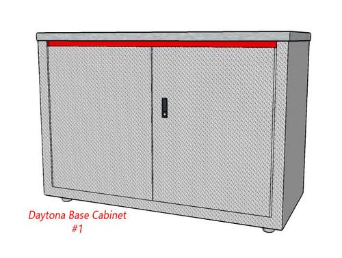 "Daytona Base Cabinet 48"" Two Door Cabinet - 1"