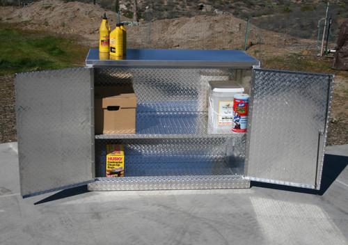"""48"""" X 22"""" Base Cabinet Storage, Open Door"""