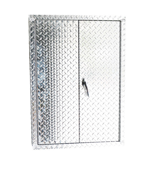 Industrial Diamond Plate Utility Cover